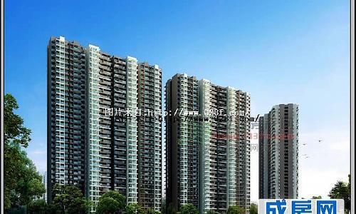 锦江城市花园-外观图