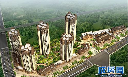 锦江国际花园-外观图