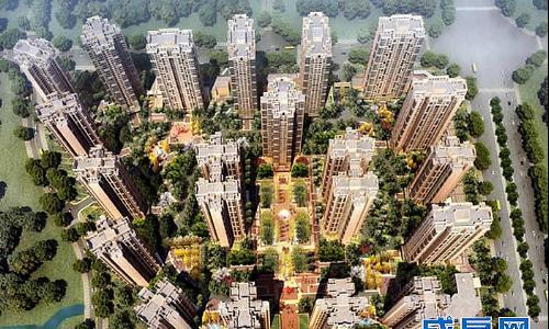 綠地城-外觀圖