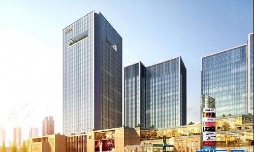 成都市新都区北星大道二段666号 -金华财富广场 成都金华财富广场 楼高清图片