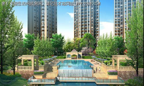 中国铁建北湖国际城-外观图