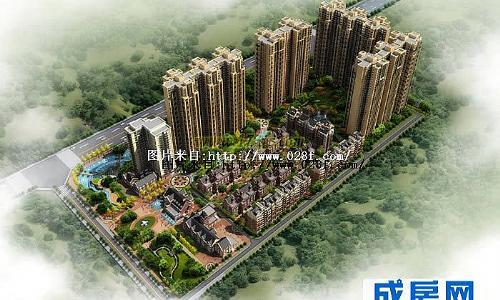 中国铁建国际城-外观图