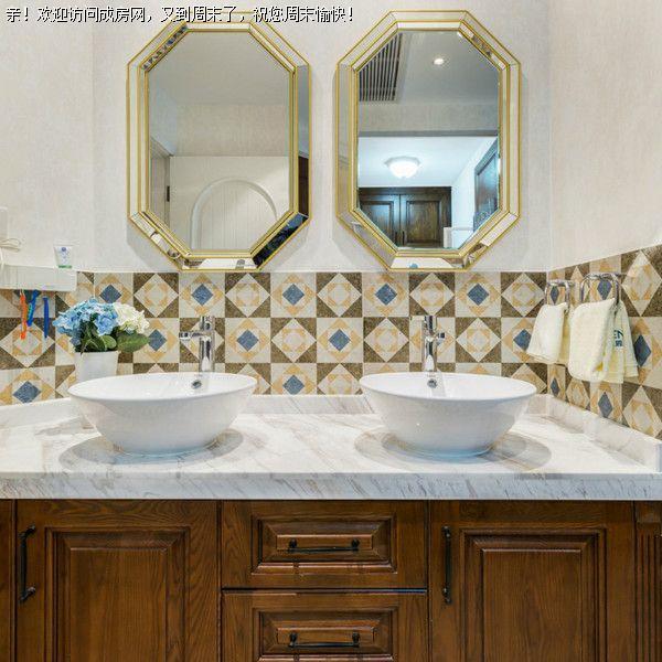 成都全包裝飾公司華煕藝術村美式風格案例