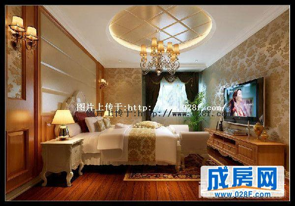 中海金沙府歐式風格躍層裝修圖片