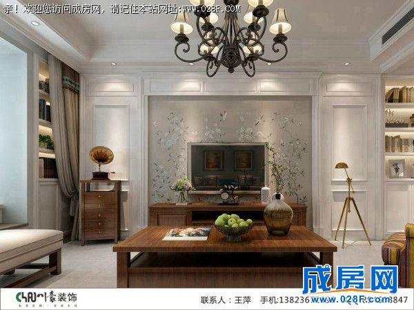 主卧室作为休息区域,墙面采用的是硅藻泥,地面采用的是实木复合地板