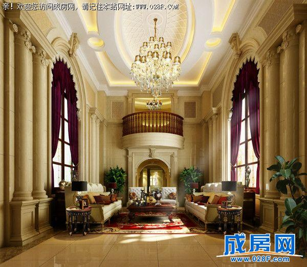 重庆豪华欧式别墅设计