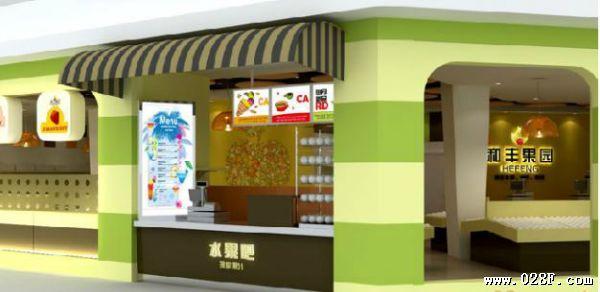 水果店装修效果图   如何装饰小型水果店   找好店面后,别