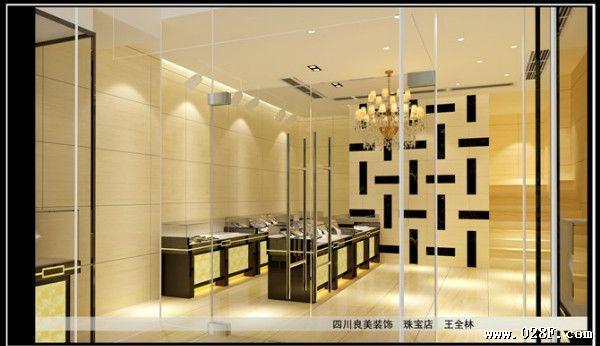 成都饰品店装修设计 最好的银饰店装修设计高清图片