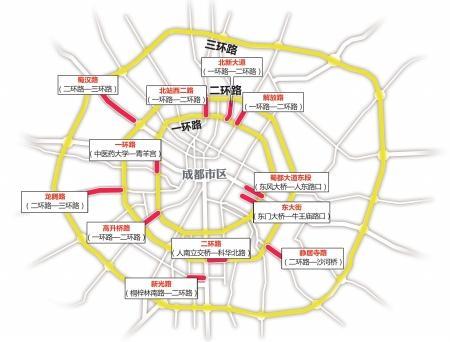 成都行政区域划分图