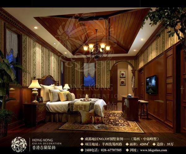 成都麓山国际别墅装修设计施工公司效果图样板间征集
