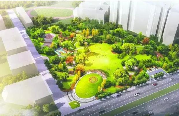 成华区新建6大公园 周边覆盖20余楼盘