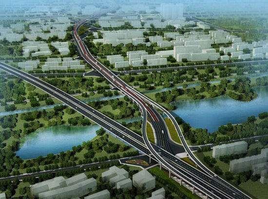 成都凤凰山高架预计年底完工 全线双向6车道
