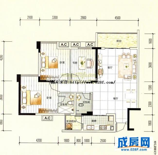 中铁塔米亚—户型图展示-成都新房-成都楼盘|成都